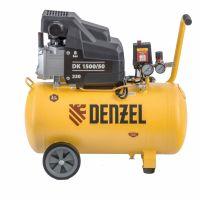 Компрессор воздушный DK1500/50, Х-PRO 1,5 кВт, 230 л/мин, 50 л Denzel - 58064