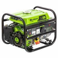 Генератор бензиновый БС-1200, 1 кВт, 230 В, четырехтактный, 5,5 л, ручной стартер Сибртех - 94541