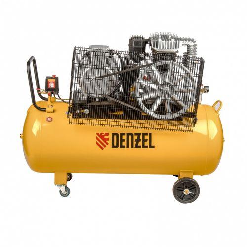 Компрессор DR5500/200, масляный ременный, 10 бар, производительность 850 л/м, мощность 5.5 кВт Denzel - 58084