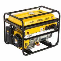 Генератор бензиновый GE 6900, 5.5 кВт, 220 В/50 Гц, 25 л, ручной старт Denzel - 94637