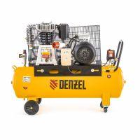 Компрессор DR4000/100, масляный ременный, 10 бар, производительность 690 л/м, мощность 4 кВт Denzel - 58092