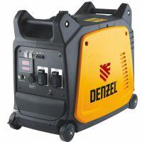 Генератор инверторный GT-3500i, X-Pro 3.5 кВт, 220 В, цифровое табло, бак 7.5 л, ручной старт Denzel - 94644