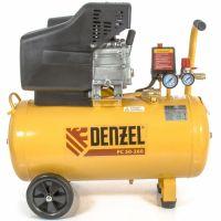 Компрессор воздушный PC 50-260, 1,8 кВт, 260 л/мин, 50 л, 10 бар Denzel - 58073