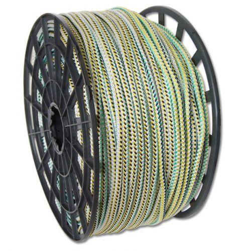 Шнур хозяйственный усиленный нейлоновый цветной 8мм 250м на катушке