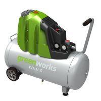 Компрессор электрический Greenworks GAC50L 1500W