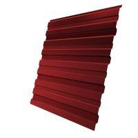 Профнастил С10 Grand Line Optima Pe 0,7 мм RAL 3011 коричнево-красный