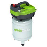 Компрессор электрический Greenworks GAC24V 1500W вертикальный