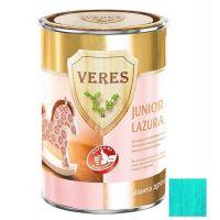 Пропитка для древесины Veres Junior Lazura №26 бирюзовая 0,25 л